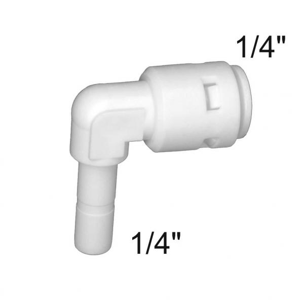 "Conector rapid cot tub 1/4"" - furtun 1/4"""